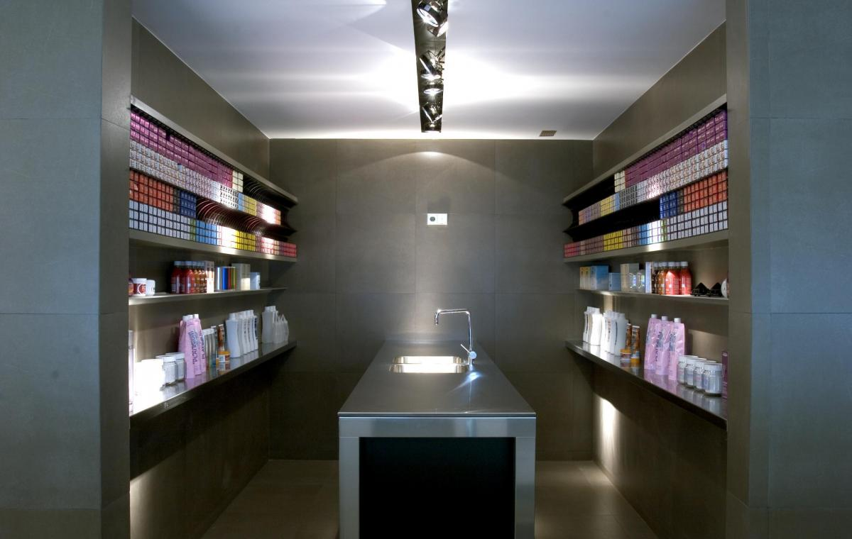 "Hair Salon ""Compagnia de la Bellezza"", Barcelona"
