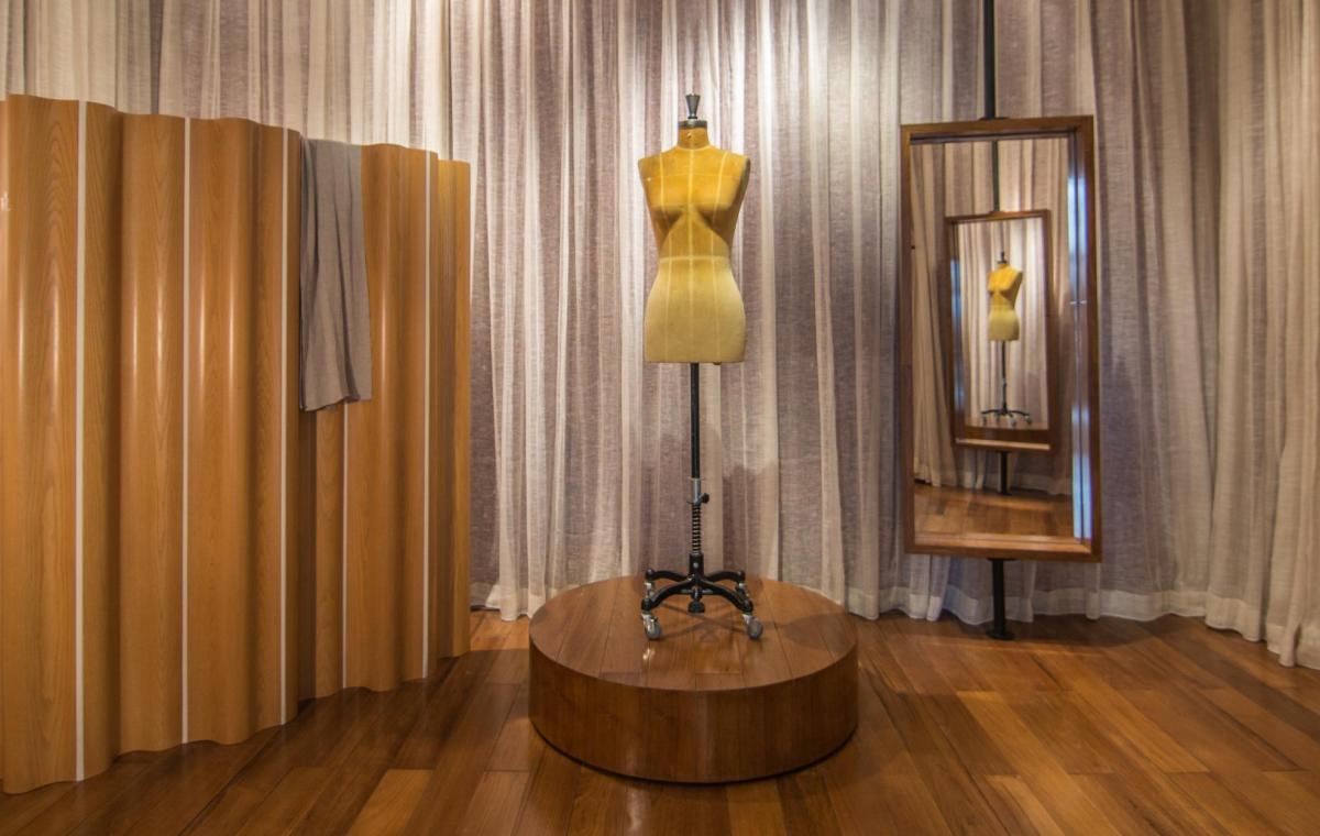 Proyecto de arquitectura interior del showroom de Tsultrim en Pekín