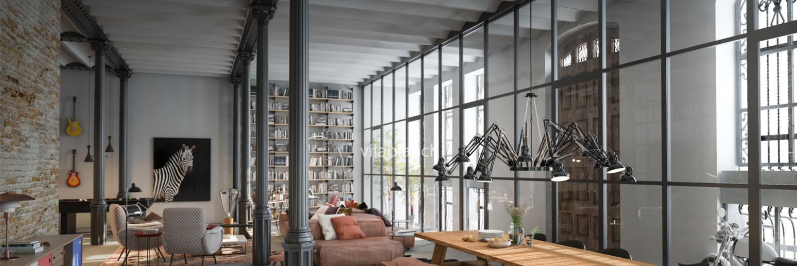loft casa burés interiorismo y restauración por estudio vilablanch