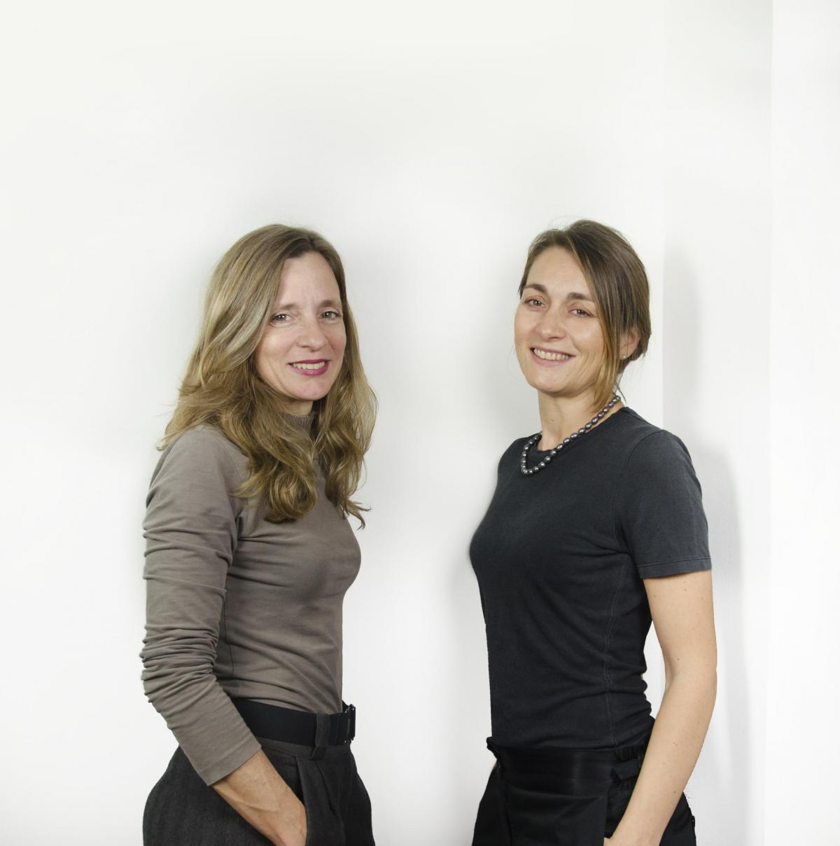 Elina Vilà and Agnès Blanch from vilablanch interior design studio in Barcelona