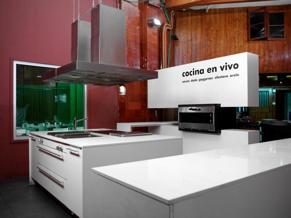 Restaurante arola samsung en casa decor vilablanch for Proyecto cocina restaurante